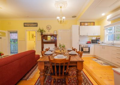 Brentwood Cottage Dining and Kitchen