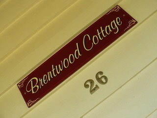 Brentwood Cottage Sign.
